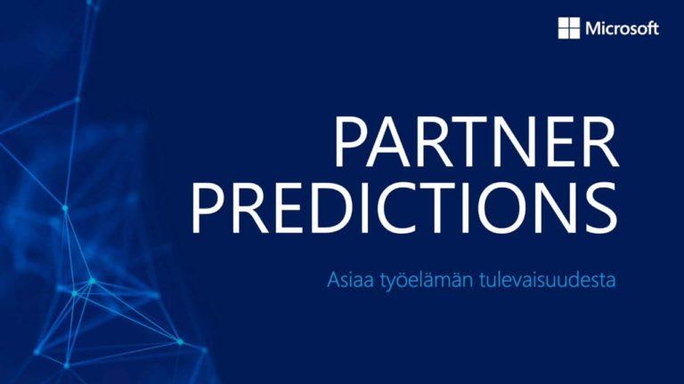 Microsoft Partner Predictions